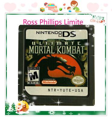 Ultimate Mortal Kombat Game (Nintendo DS, 2007)Game Card For DS 3DS XL Christmas comprar usado  Enviando para Brazil