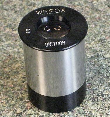 Unitron Wf 20x Microscope Eyepiece