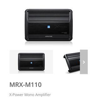 Alpine MRX-M110 1900W Mono Block Car Amplifier