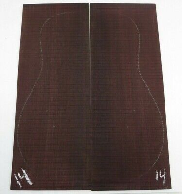 BEAUTIFUL DREADNOUGHT/ OM  ROSEWOOD BACK GUITAR LUTHIER TONEWOOD  #14 FREE SHIP!