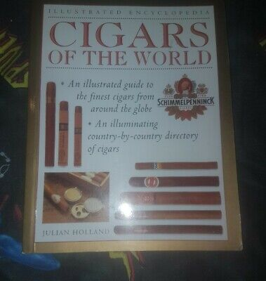 Used, Cigars encyclopedia book Illustrated Guide around the world hobby collector's  for sale  Shipping to South Africa