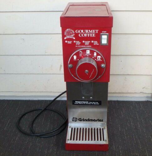 GRINDMASTER COFFEE GRINDER COMMERCIAL RESTAURANT MODEL # 825  MANY SETTINGS