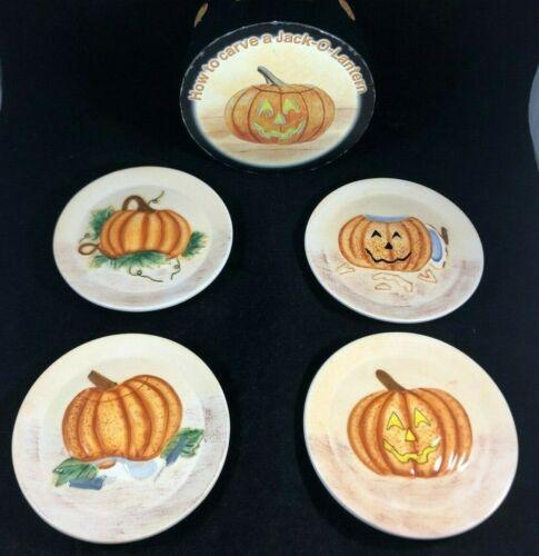 Halloween Mini Pumpkin Plates How to Carve a Jack-O-Lantern