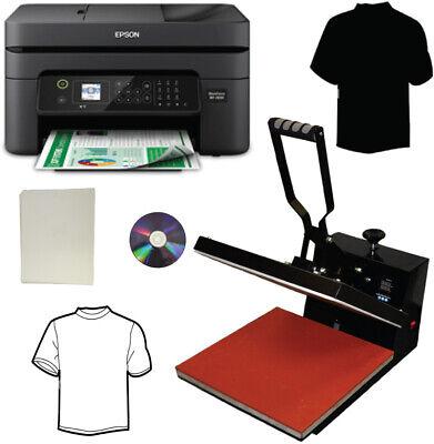 15x15 Pro Heat Transfer Press Wireless All In One Printer Transfer Paper Tshirts