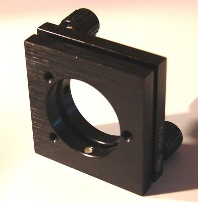 Newport Nrc Mm-2a 1 Inch Optic Mirror Lens Mount With 2 Adjustment Knobs