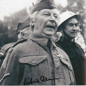 CLIVE-DUNN-Signed-8x8-Photo-DADS-ARMY-Corporal-Jones-COA