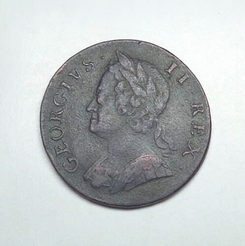 1747 Great Britain 1/2 Penny, KM-579.2.