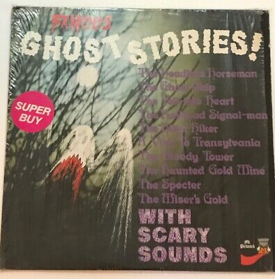 VINTAGE 1975 HALLOWEEN FAMOUS GHOST STORIES LP PICKWICK RECORDS 1975 Vinyl - Vintage Halloween Records