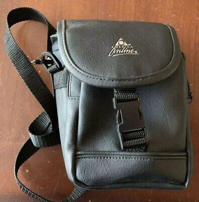 America Online~Camera Black Leather Shoulder Bag~AOL Retro Sunglasses (Black Sunglasses Online)