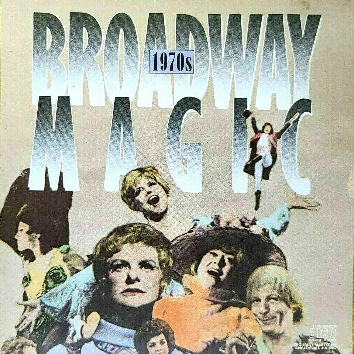 Broadway Magic 1970s Original Cast Compilation - Audio CD - VERY GOOD - $7.99