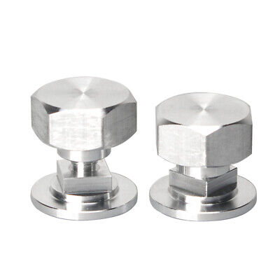 Light Weight Aluminum Pipeliner Helmet Fasteners Hex Head