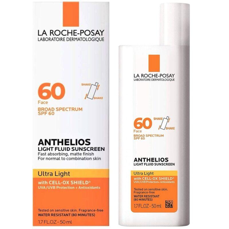 La Roche-Posay Anthelios 60 Ultra Light Sunscreen Fluid SPF60, 1.7 oz +09/2023