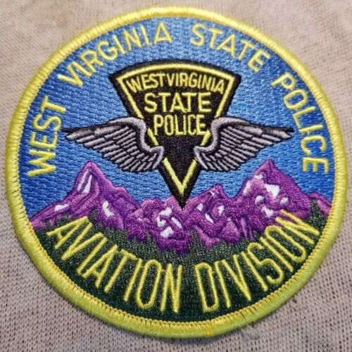 WV West Virginia State Police Aviation Division Patch
