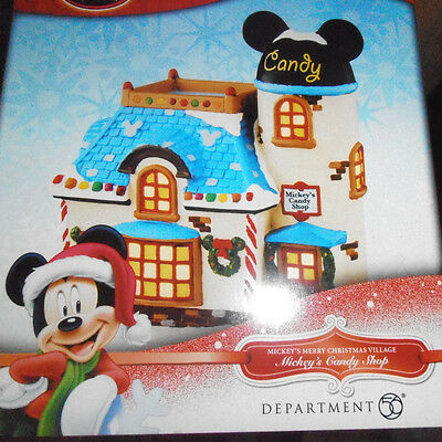 New in Box Department 56 -  Disney Mickey's Candy Shop