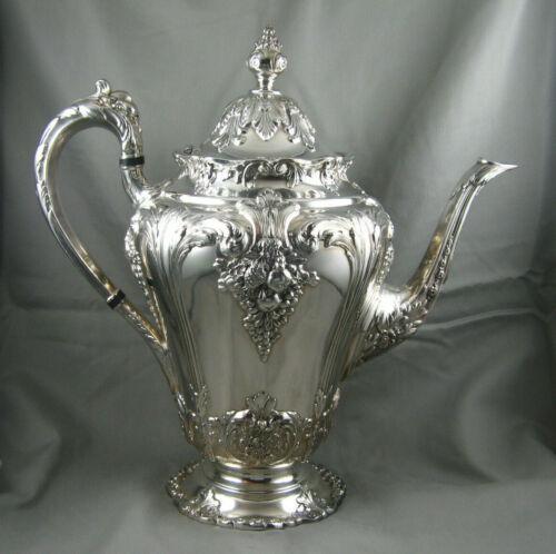 Reed & Barton Silverplate Renaissance Coffee Pot