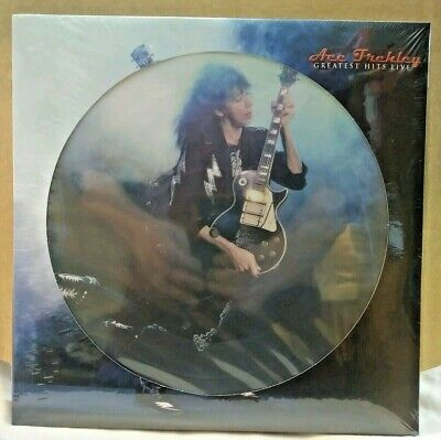ACE FREHLEY Greatest Hits Live Picture Disc Double Vinyl LP New Sealed!