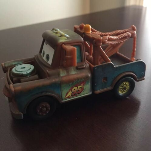 Disney Pixar Cars McQueen Mater Tomica 1:55 Diecast Vehicle Kids Toys Lot Loose