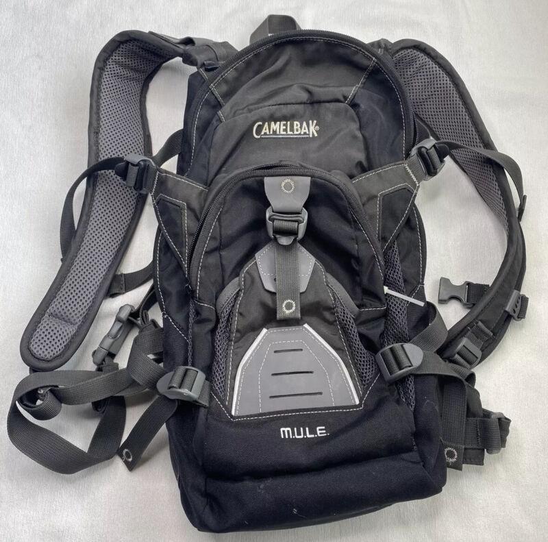 Camelback Mule Hydration Backpack Day Bag No Bladder Gray -READ DETAILS-