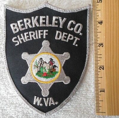 BERKELEY COUNTY WEST VIRGINIA SHERIFF PATCH (SHERIFF, HIGHWAY PATROL, EMS)