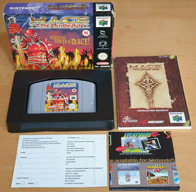 MACE THE DARK AGE for NINTENDO 64 N64 PAL COMPLETE & IN VGC