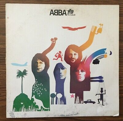 ABBA THE ALBUM LP 1977 ATLANTIC RECORDS SD 19164 NM VINYL Cover Good1970's Pop