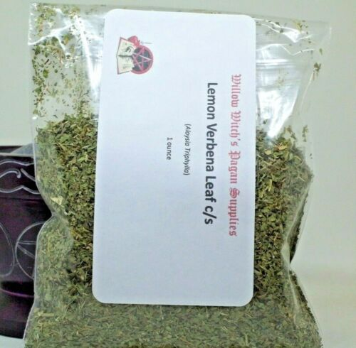 Lemon Verbena Leaf c/s 1 Ounce Herb Wicca Hoodoo Witchcraft Voodoo Pagan