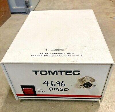 Tomtec Quadra 55khz Ultrasonic Cleaner Tip Wash Station Control Module 115v 1a