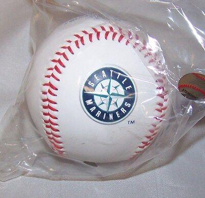 Seattle Mariners Baseball (1 Seattle Mariners Team Logo Ball MLB Baseball)
