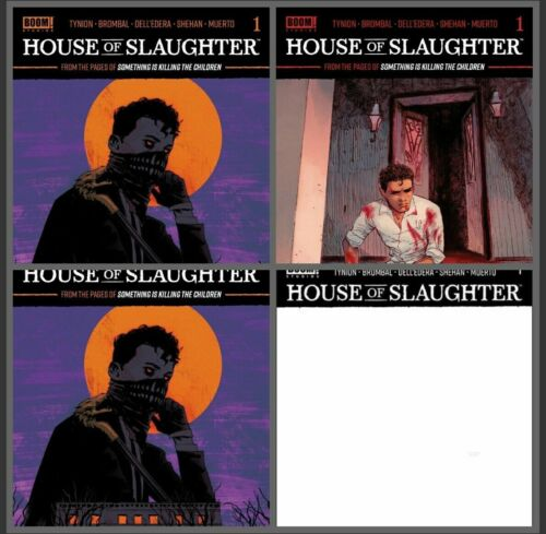 House of Slaughter #1 Cover Set ABCD | Boom | - Available 10/27