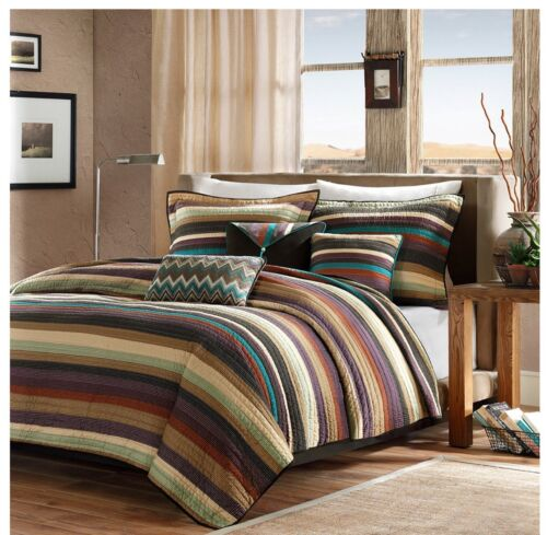 Madison Park Yosemite 5 Pc New Fall Quilted Coverlet Set  Tw