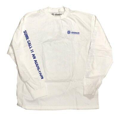 (Fishaholics Men's Long Sleeve T-Shirt Tee White L/S Sport Fishing 3 FOR $25)