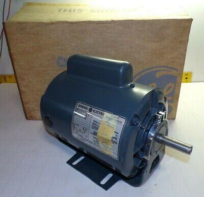 New Ge 34-14 Hp Ac Electric Motor 115 Vac 17251140 Rpm 56 Fr 1 Kc47sg124ks