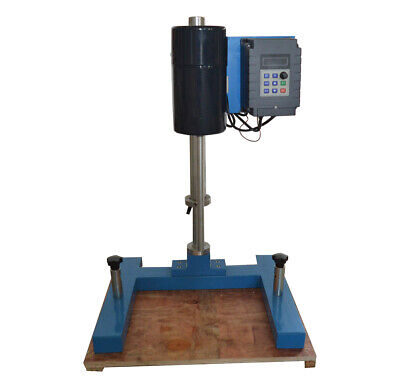 Homogenizer Mixer With Stand Element 550w Disperser For Labtiming Ditigal New
