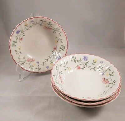 Johnson Brothers Summer Chintz 6' Cereal Bowls × 4