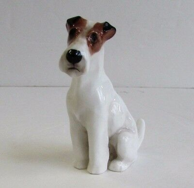 Vintage Royal Doulton Fox Terrier Dog Figurine K8