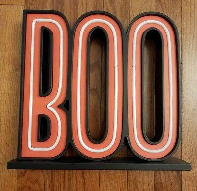 Boo Halloween Signs (Halloween