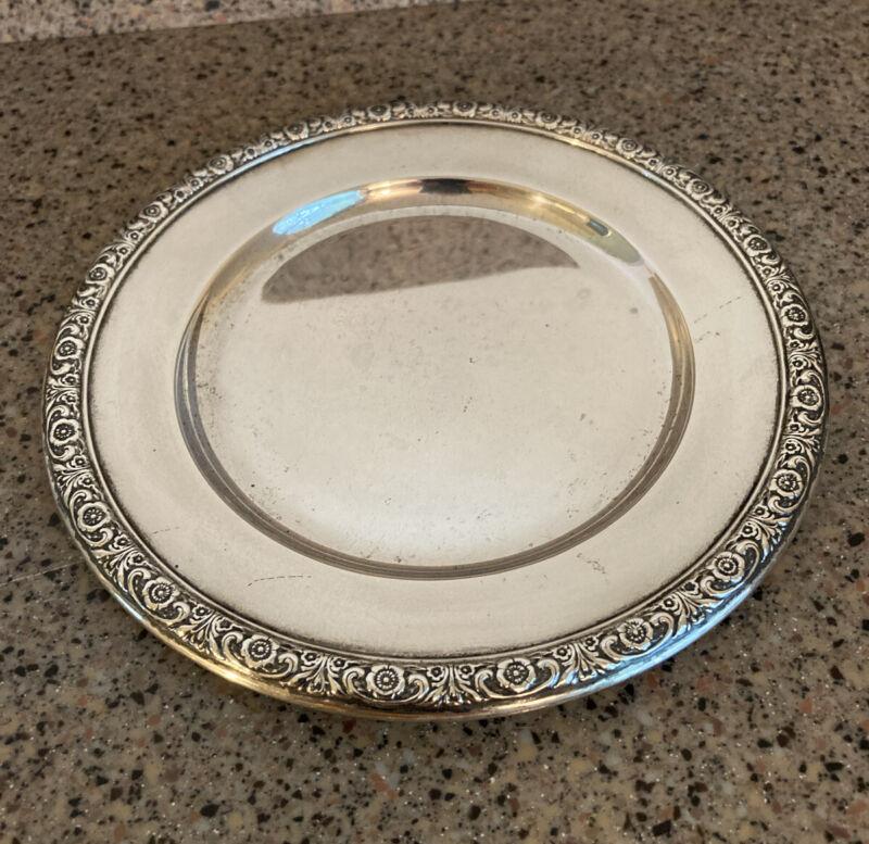 "Prelude Sterling Silver International 6"" Bread Plate H576"