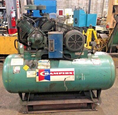 Champion Reciprocating Air Compressor Hr-10 10hp 120gallon 175 Psi
