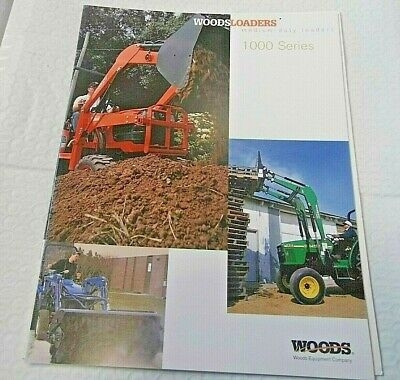 Factory 1998 Woods Medium Duty Loaders 1000 Sers Dealership Spec Brochure Manual