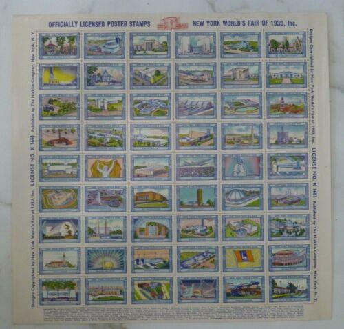 Uncut Sheet - New York World