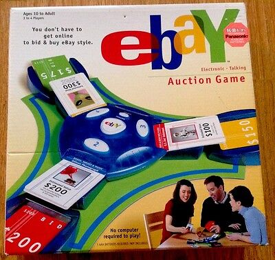 Ebay Electronic Talking Auction 2001 Hasbro Parker Brothers Not Played w butOpen