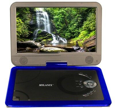 10.1 Portable CD/DVD Player, HD Widescreen Display Built-in Rechargeable Battery