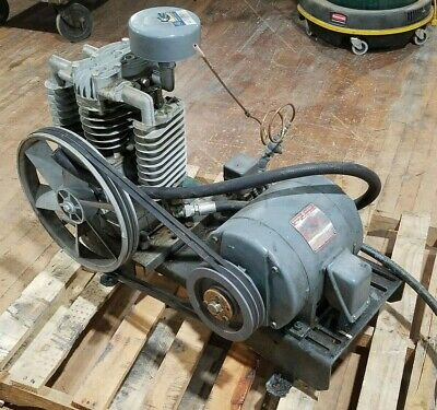 Imc Air Compressor No Tank Ge 5hp Induction Motor 208-220460v 1750rpm Can Ship