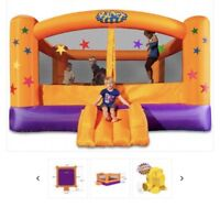 Bouncy castle and water park for rent
