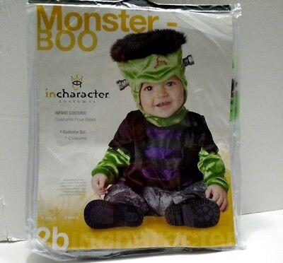 Monster-Boo 6 mos.Halloween Costume Frankenstein - Boo Monster Halloween Costume