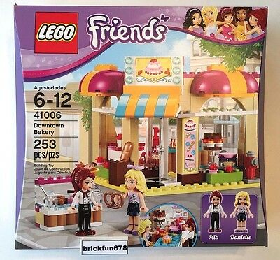 Lego Friends 41006 Downtown Bakery New In Factory Sealed Box