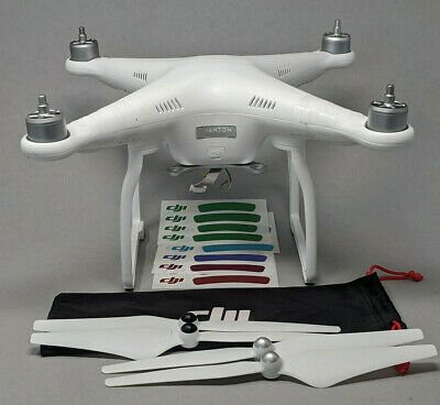 DJI Phantom 3 Standard Drone QUADCOPTER ONLY plus props - Flies Great