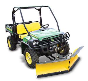 John Deere Gator Plow >> John Deere Gator 620i 825i XUV UTV 72 034 Hydraulic V Plow Snow Plow Free SHIP | eBay