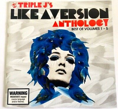 Triple J's Like A Version Anthology 2 CD - Best of Volumes 1 to 5