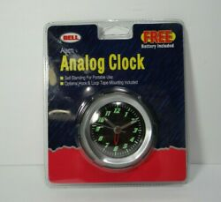 Bell Bicycle Wireless Analog Alarm Clock Model 37025 Battery Operated